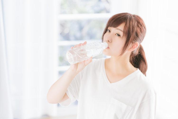 美肌は飲み水が基本
